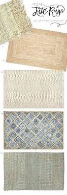 the best modern farmhouse style natural fiber jute rugs for your living dining room rug runner farmhouse style rugs