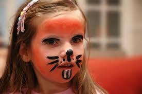 bunny face paint basics