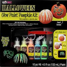 picture of tulip diy glow paint pumpkin kit