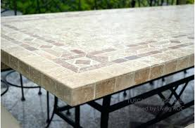 stone patio table. Granite Patio Table Charming Outdoor Base For Top Best Of Dining Mosaic Stone .