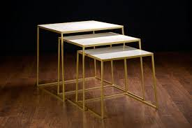 Soni Marble Nesting Tables