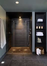 Walk in shower lighting Master Bathroom Doorless Shower Designs Teach You How To Go With The Flow Comptest2015org 43 Best Shower Lighting Images Light Design Lighting Design