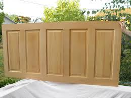 Five Panel Door Headboard Door Headboard Vivid Imaginations Studio