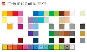 Chart Of Lego Pieces Heres This Years Official Colour Palette Brickset Lego