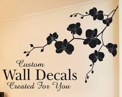 orchid wall decal beautiful orchid decal orchid vinyl decal flower decal sale on orchid vinyl wall art with vinyl wall decal wall sticker cherry blossom decal bamboo