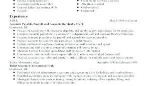 Sample Accounts Receivable Resume Account Receivable Resume Accounts