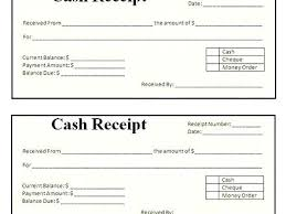 Paid Receipt Form Numbered Cash Paid Receipt Format Of Money Received Template