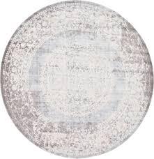 8 x 8 new vintage round rug