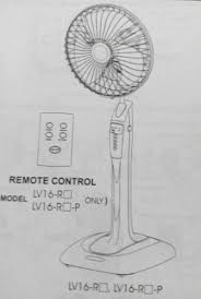 mitsubishi electric fan lv16 rm