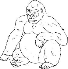 Dessin Dessin De Gorille Gratuit L L L L L L L L L