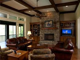 decorating ideas for family room. decorating ideas for a family room leather brown couch