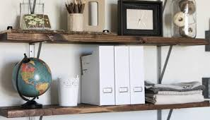 diy office shelves. Shelves : Sublime Diy Office By The Wood Grain Cottage Wall