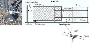commercial chain link fence parts. Ravishing Chain Link Fence Double Gate Installation And Bracket | Lock Latch Design Pinterest Gate, Commercial Parts -