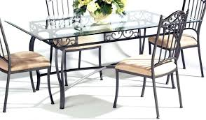glass round top dining table glass top dining tables with metal base best glass round dining