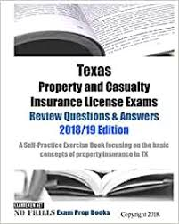 Transfers risk from the insured to a third party, the insurance company: Texas Property And Casualty Insurance License Exams Review Questions Answers 2018 19 Edition A Self Practice Exercise Book Focusing On The Basic Concepts Of Property Insurance In Tx Examreview 9781717263230 Amazon Com Books