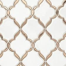 Kitchen Design 12 X 16 Victorian Oro Polished Porcelain Mosaic Master Bathroom