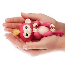 Amazon.com: WowWee Fingerlings - Interactive Baby Monkey - Bella ...