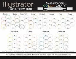Illustrator Blendable Alcohol Markers 12 Pen Boxset Seascape Specn Il12 Sea