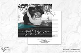 photography gift certificate template exle image 1