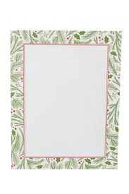 Holly Bough Border Stationery Paper 80 Count
