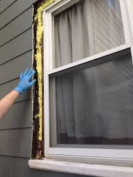 exterior window replacement. Simple Replacement Just Look At That Nicely Foamed Sort Of Window Opening Intended Exterior Window Replacement Frugalwoods
