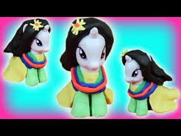 mulan my little pony play doh costume dress how to tutorial