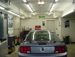garage lighting led micro fluorescent strip lighting for two parts of garage content which is classified