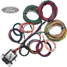 14 circuit ford restoration wiring harness streetrodelectrics com image 1