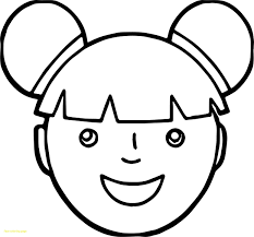Odd Sad Face Coloring Page Free Smiley Pages For Makeup Cat Adults