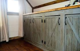sliding cabinet doors for bathroom. Sliding Barn Door Bathroom Cabinet Medium Size How To Make Doors . For