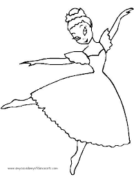 Small Picture Smartness Inspiration Ballet Dancer Coloring Pages 25 Best Dance