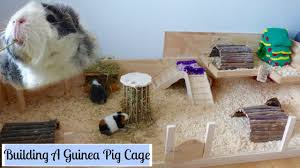 how to build your own wooden guinea pig cage diy cage