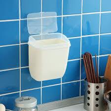 Seamless <b>Wall</b>-<b>mounted</b> Trash Bin Bathroom Glass Door Hanging ...