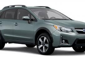 Subaru Drops Its Crosstrek Hybrid Model