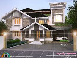 Traditional Contemporary House Designs Luxurious Modern Mix Traditional Home And Plan Kerala Home