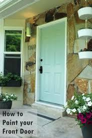 painting front doorFront Doors  Faux Paint Front Door Look Like Wood Repainting