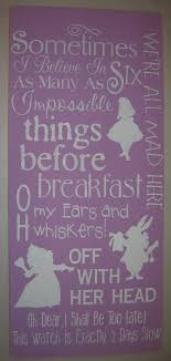 Alice In Wonderland Wall Decor 17 Best Images About Alice In Wonderland Nursery On Pinterest