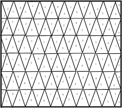 Free Pattern - Ombre + B&W Triangle Quilt by Kate & Please note that for best results this pattern should be printed at 100%  size. Adamdwight.com