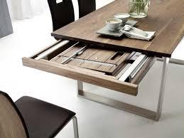 Esstisch Holz Metallfüße Ausziehbar