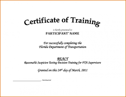 12 Certificate Template For Training Course Cashier Resumes