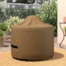 Image Cat Wayfair Basics Round Fire Pit Cover Wayfair Patio Furniture Covers Youll Love Wayfair