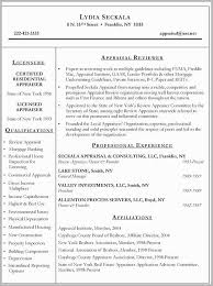 Commercial Real Estate Appraiser Sample Resume Impressive Real Estate Appraiser Resume Examples Free Download