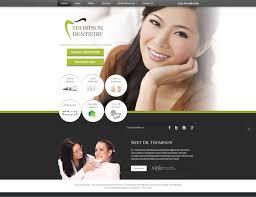 Dental Office Website Design Impressive Cosmetic Dental Website Design For Dentists Solution48