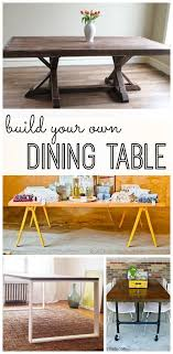 Make Your Own Kitchen Table Build Your Own Dining Table My Life And Kids