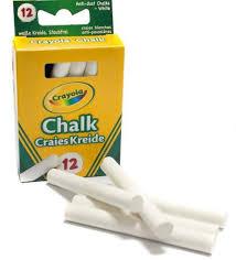 <b>Мелки белые Crayola</b>, 12шт. - купить в интернет магазине ...