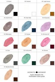 Saphir Polish Color Chart Www Bedowntowndaytona Com