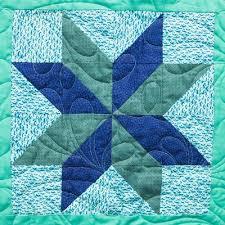Quilt Block Library | FaveQuilts.com & Star Flower Block Pattern Adamdwight.com