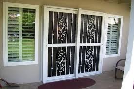 delightful sliding glass door security security door for sliding glass door saudireiki
