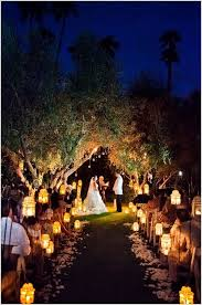 moroccan lanterns too are a great option for an enchanted wedding walkway