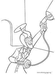 Small Picture Meet the Robinsons Laszlo Robinson coloring page